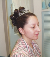 Hair-Up With Tiara