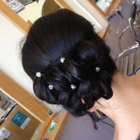 Hair-Up With Beads