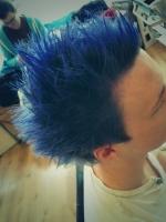 Spikey Blue